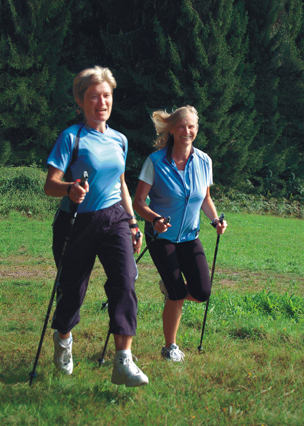 Nordic Walking Hotel Angebot in Bad Rippoldsau-Schapbach
